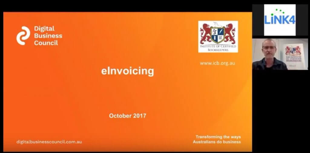 Link4 e-Invoicing Webinar with Matthew Addison